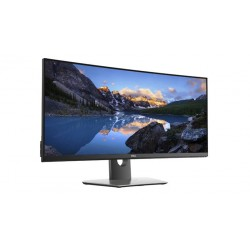 Monitor DELL Professional P3418HW 34'' Curved, 2560 x 1080, IPS Antiglare, 21:9, 300cd/m2, 5ms GTG, 178/178, speakers 2x9W, 2x H