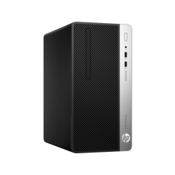 HP ProDesk 400 G5, Intel Core i5-8500, 8GB, UMA, 256GB M.2 PCIe NVMe, DVD-RW, USBkbd, mouseUSB, No 3rd Port, PS 180Watt, W10p64,