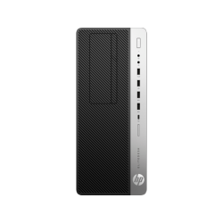 HP EliteDesk 800 G4 TWR, Intel Core i5-8500, 8GB, 256GB SSD, DVD-RW, USB  Slim kbd, mouseUSB, VGA Port, Platinum 250W, W10p64, 3