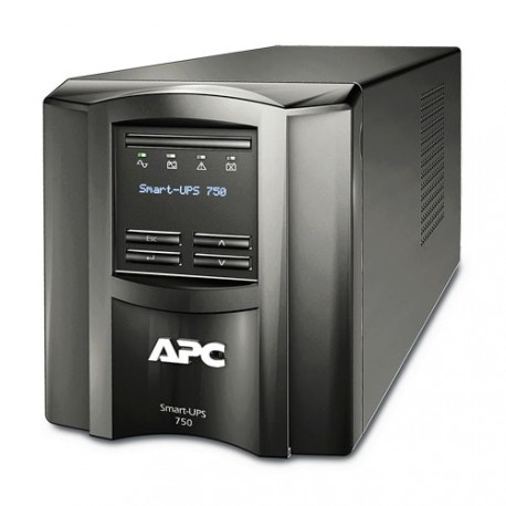 APC Smart-UPS 750VA/500W line interactive LCD 230V with SmartConnect, 3 years warranty for UPS, only 2 years warranty for batter