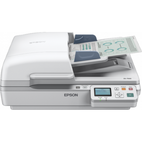 Epson WorkForce DS-6500N - Document scanner - Duplex - A4 - 1200 dpi x 1200 dpi - up to 25 ppm (mono) / up to 25 ppm (colour) -