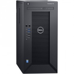 PowerEdge T30 Server Intel Xeon E3-1225 3.3Gz 1x8GB DDR4 UDIMM 2133 MT/s ECC 1TB 7.2K Entry SATA 3.5in Cabled Hard Drive