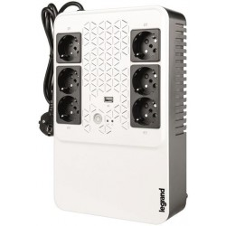 UPS Legrand Keor Multiplug 600VA/360W Single phase Line Interactive Technology- VI Simulated SineWave Cold Start Function USB