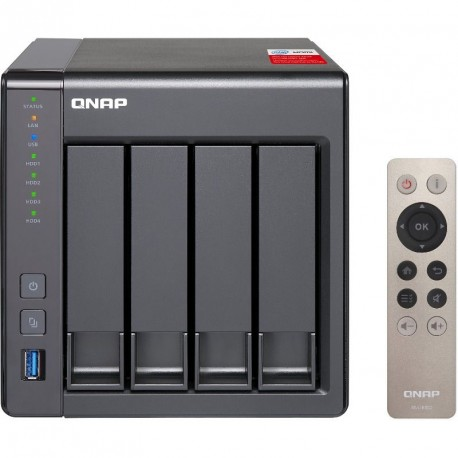 QNAP NAS 4BAY TWR J1900 2.0GHZ 2GB 2LAN
