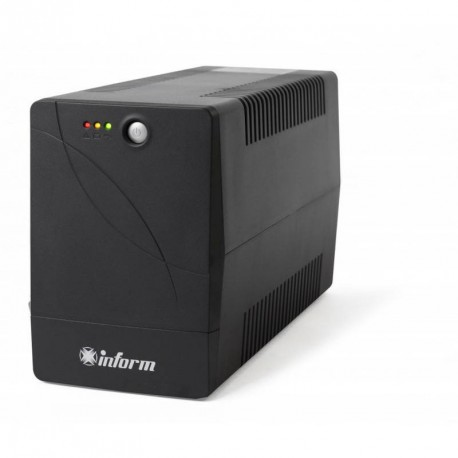 UPS Inform by Legrand Guardian 2000VA/1200W Line interactive, Single-phase, Protection R711/R745, 1 buton, 3 LED, Pseudo-sinusoi