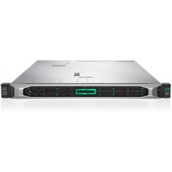 HPE ProLiant DL360 Gen10 SMB Network Choice - rack-mountable - Xeon Silver 4210 2.2 GHz - 16 GB - no HDD