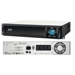 APC Smart-UPS 1000 LCD - UPS (rack-mountable) - AC 230 V - 700 Watt - 1000 VA - RS-232, USB - output connectors: 4 - 2U