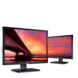 "Dell Monitor UltraSharp U2412M (24"", 1920x1200, Pivot, HDCP Ready, LED Backlight, Swivel, Tilt, 1000:1, 2000000:1(DCR), 178/178,"