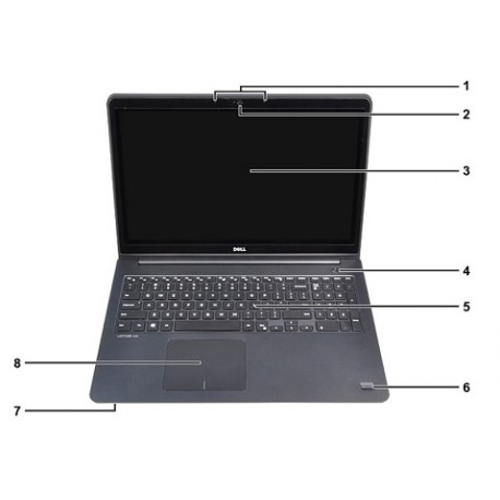 Dell laptop Latitude 3550|i3-4005U|Ubuntu|4GB|500GB|UMA|WLAN7265|43WHR