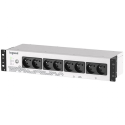 UPS Legrand KEOR PDU 800VA/480W off-line Short circuit and overload protection USB IN 1xIEC 10A OUT 8x IEC C13 1x 12V 9Ah
