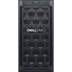 Dell PowerEdge T140 Tower Server Intel Xeon E-2134 3.5GHz (4C/8T) 16GB(1x16GB) 2666 MT/s UDIMMs 2 x 4TB 7.2K RPM SATA(3.5 up t