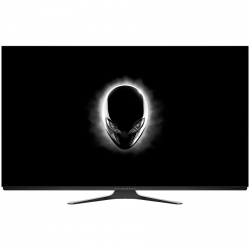 Monitor OLED DELL Alienware AW5520QF 55 16:9 4K 3840x2160 at 120Hz FreeSync 130000:1 120/120 0.5ms 130cd/m2 (typical)