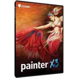 Corel Painter X3 DVD case