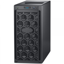 Dell PowerEdge T140 Tower Server Intel Xeon E-2124 3.5GHz(4C/4T) 16GB(1X16GB)2666 MT/s UDIMMs 2 x 1TB 7.2K RPM SATA(3.5 up to 4