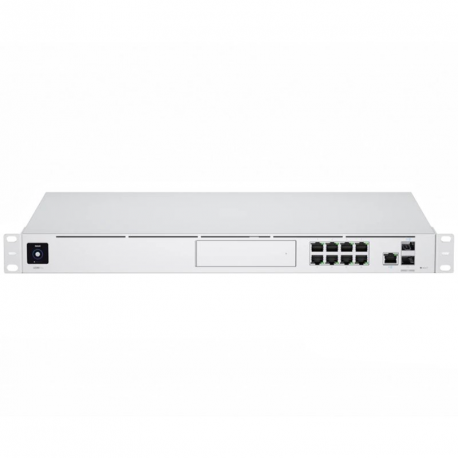 1U Rackmount 10Gbps UniFi Multi-Application System with 3.5 HDD Expansion and 8Port Switch
