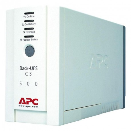 APC Back-UPS CS, 500VA/300W, stand-by, 230V, 2 yw