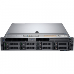 Dell PowerEdge R740 Rack Server Intel Xeon Silver 4208 2.1G(8C/16T) 16GB RDIMM 3200MT/s 600GB 10K RPM SAS(up to 8 x 3.5 SAS/SAT
