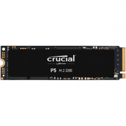 Crucial SSD 500GB P5 M.2 NVMe PCIEx4 80mm Micron 3D NAND 3400/3000 MB/s 5yrs 7mm