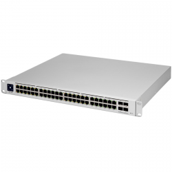 UniFi 48Port Gigabit Switch with 802.3bt PoE Layer3 Features and SFP