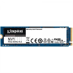 Kingston 500GB NV1 M.2 2280 NVMe SSD, up to 2100/1700MB/s, EAN: 740617316841