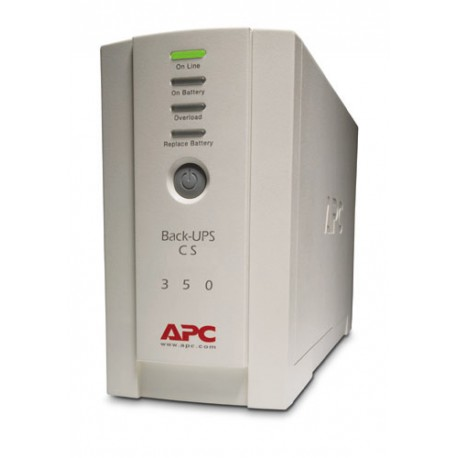APC Back-UPS, 350VA/210W, standby, Input  230V/ Output  230V, Interface Port USB, 2yw
