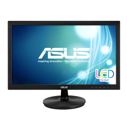 "Monitor 21.5"" ASUS VS228NE, FHD,  TN, 16:9, WLED, 5 ms, 200 cd/m2, 90/65, 50M:1/ 600:1, VGA, DVI, VESA, Kensington lock, Black"
