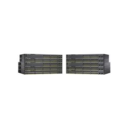 Cisco Catalyst 2960X-48TD-L - Switch - Managerad - 48 x 10/100/1000 + 2 x 10 Gigabit SFP+ - rackmonterbar