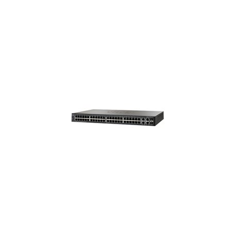 Cisco Small Business SG300-52 - Switch - L3 - Managed - 52 x 10/100/1000 + 2 x combo Gigabit SFP - desktop
