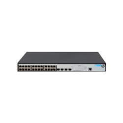 HPE 1920-24G-PoE+ - Switch - L3 - Managed - 24 x 10/100/1000 (PoE+) + 4 x Gigabit SFP - desktop, rack-mountable - PoE+ (180 W)