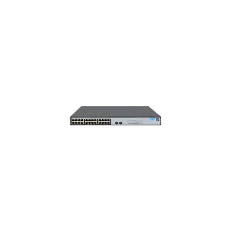 HPE OfficeConnect 1420 24G 2SFP+ Switch 10G Uplink Switch Unmanaged 24 x RJ45 autosensing 10/100/1000 ports 2 x SFP+ 1000/10000